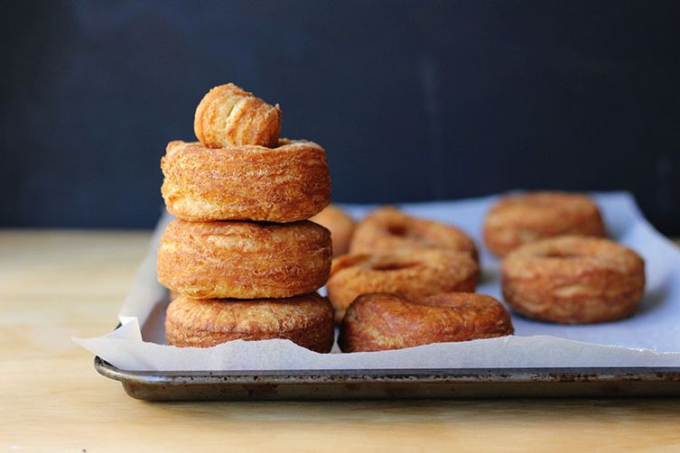 Fried Angle Biscuit Donuts
