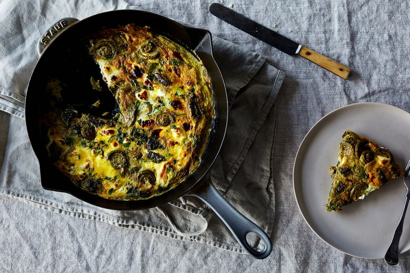 Fiddlehead Frittata