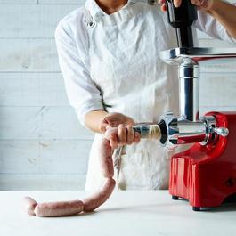 Electric Meat Grinder & Sausage Stuffer
