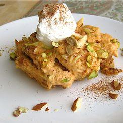 Shahi Tukray with Pumpkin: A Royal Bread Pudding