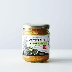 Smoke & Kale Sauerkraut