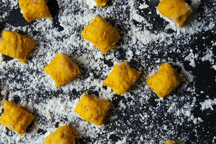 Pumpkin Gnocchi Treats Recipe — Dishmaps