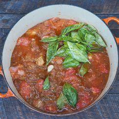Grilled Fresh Tomato Sauce