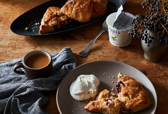 A Simple, Adaptable Formula for Creamy, Fruit-Filled Scones Every Season