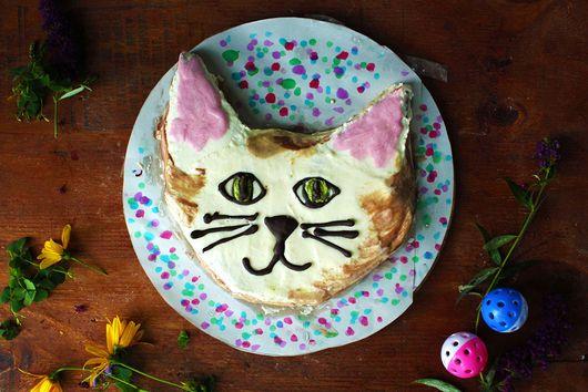 Chocolate Chip Zucchini Cat Cake