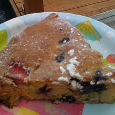 Last Berries of Summer Cake