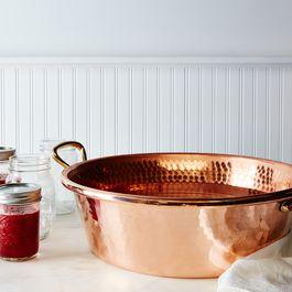 Mauviel M'passion Copper Jam Pan, 10.6QT