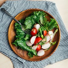 The A-List Salad of B-List Spring Vegetables