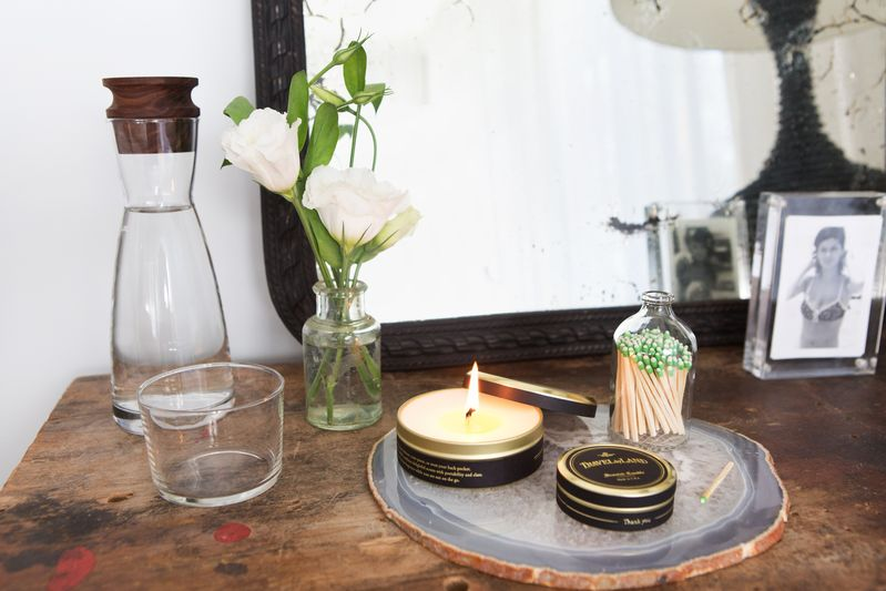 Candles your guests can take with them, like these from the Food52 Shop, make great gifts.