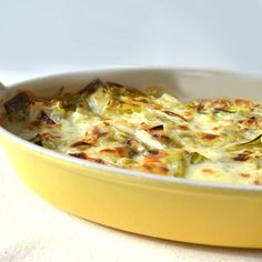 Leek & Bacon Gratin