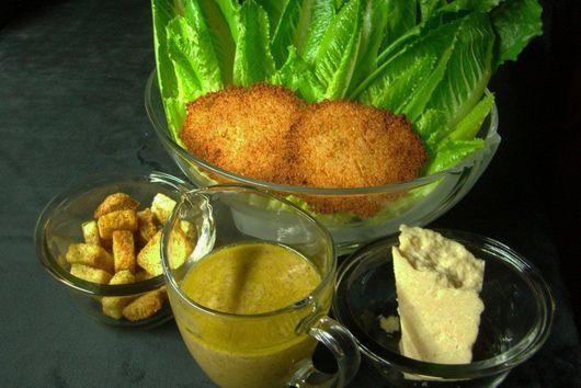 Caesar Salad Stuff and Dressing Recipe