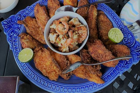 Egyptian Fried Fish Fillets