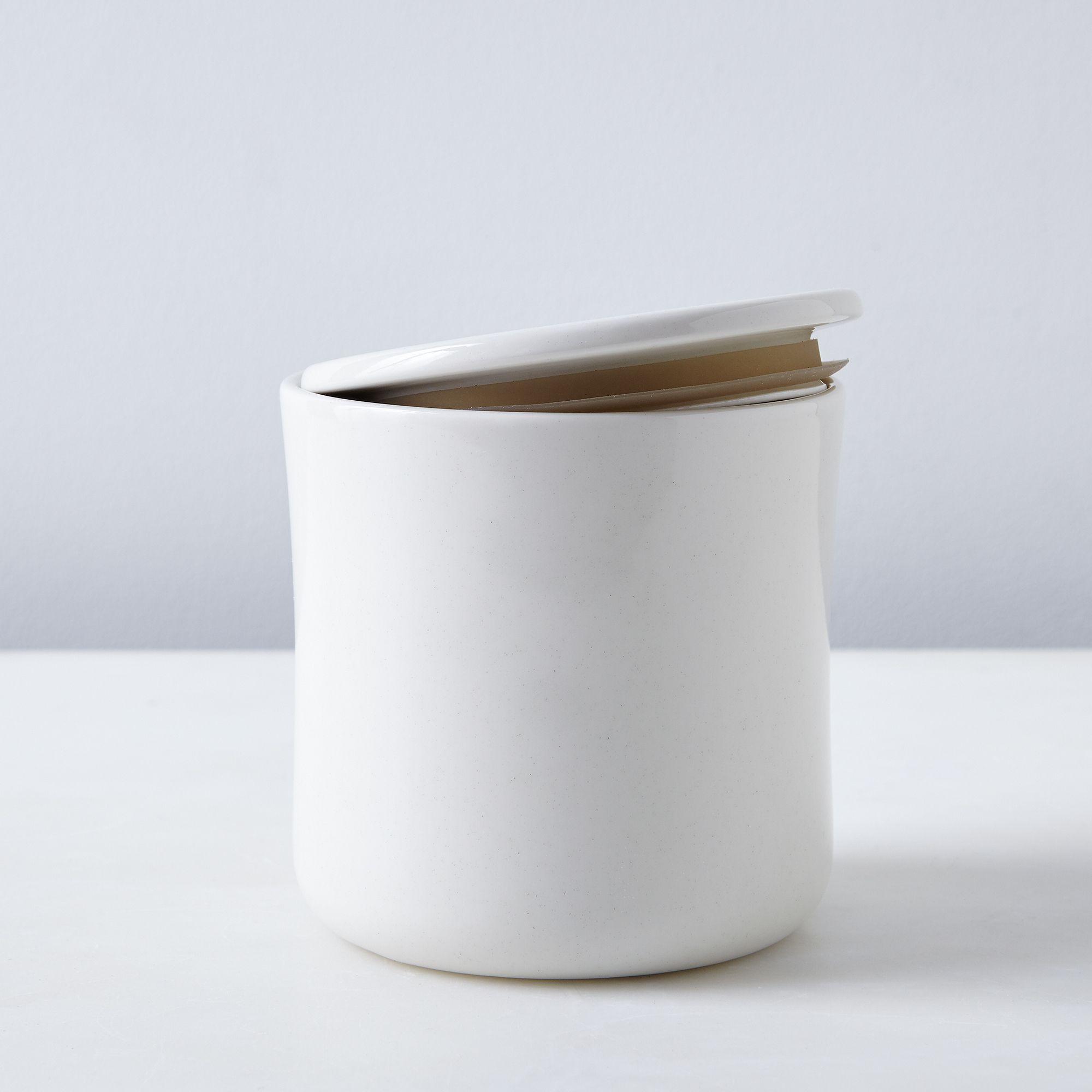 Porcelain Coffee Tea Canister