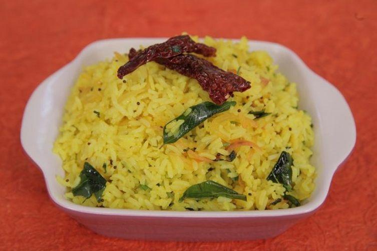 Lemon Rice in Marathi: South Indian Style Recipe