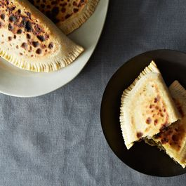 Savory (filled) pancakes, dumplings, and pies by creamtea