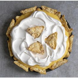 PopCorners Caramel Banana Cream Pie