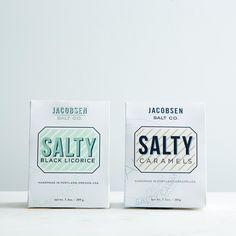Salty Black Licorice & Salty Caramel Duo