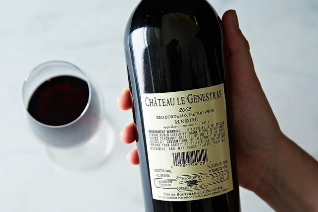 How to Decode a Wine Label from Food52