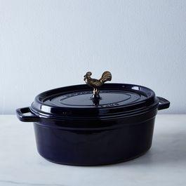 Food52 x Staub Brass Rooster Coq au Vin, 5.75QT