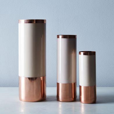 PRESALE: Copper & Blush Louise Vases