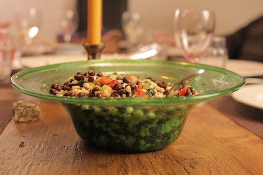 Black Bean and White Corn Salad