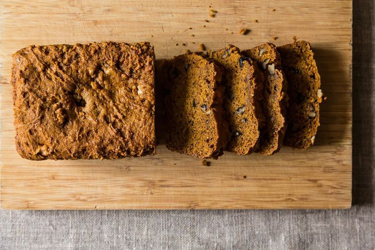 Pumpkin Christmas Bread from Food52