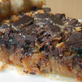 (Secret Breakfast) Chocolate Chunk Hazelnut Pie