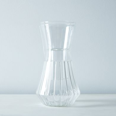 Talise Fluted Carafe with Filter Compatibility