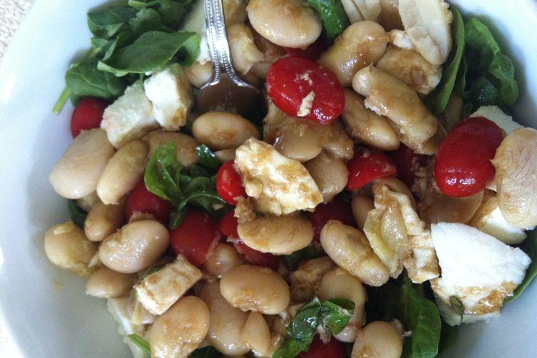 Garlicky Giganti Beans