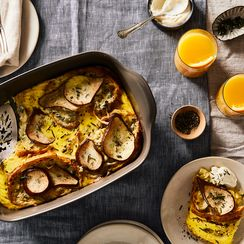 Fennel & Pear Strata