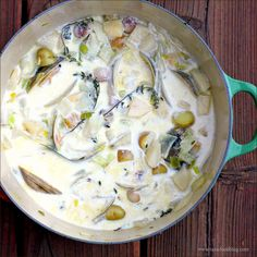 Clam Chowder with Root Vegetables and Thyme