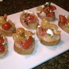 Not your same ole' Bruschetta