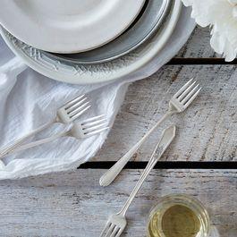 Vintage Grille Forks (Set of 4)