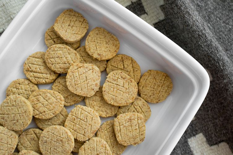 Double Toasted Coconut Oatmeal Shortbreads
