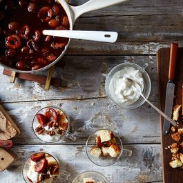 When You Spot Prune Plums, Buy Them! Then Make Dessert