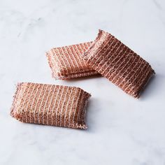French Copper Sponge (Set of 3)