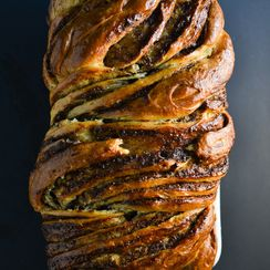 Braided Cardamon Brioche Bread