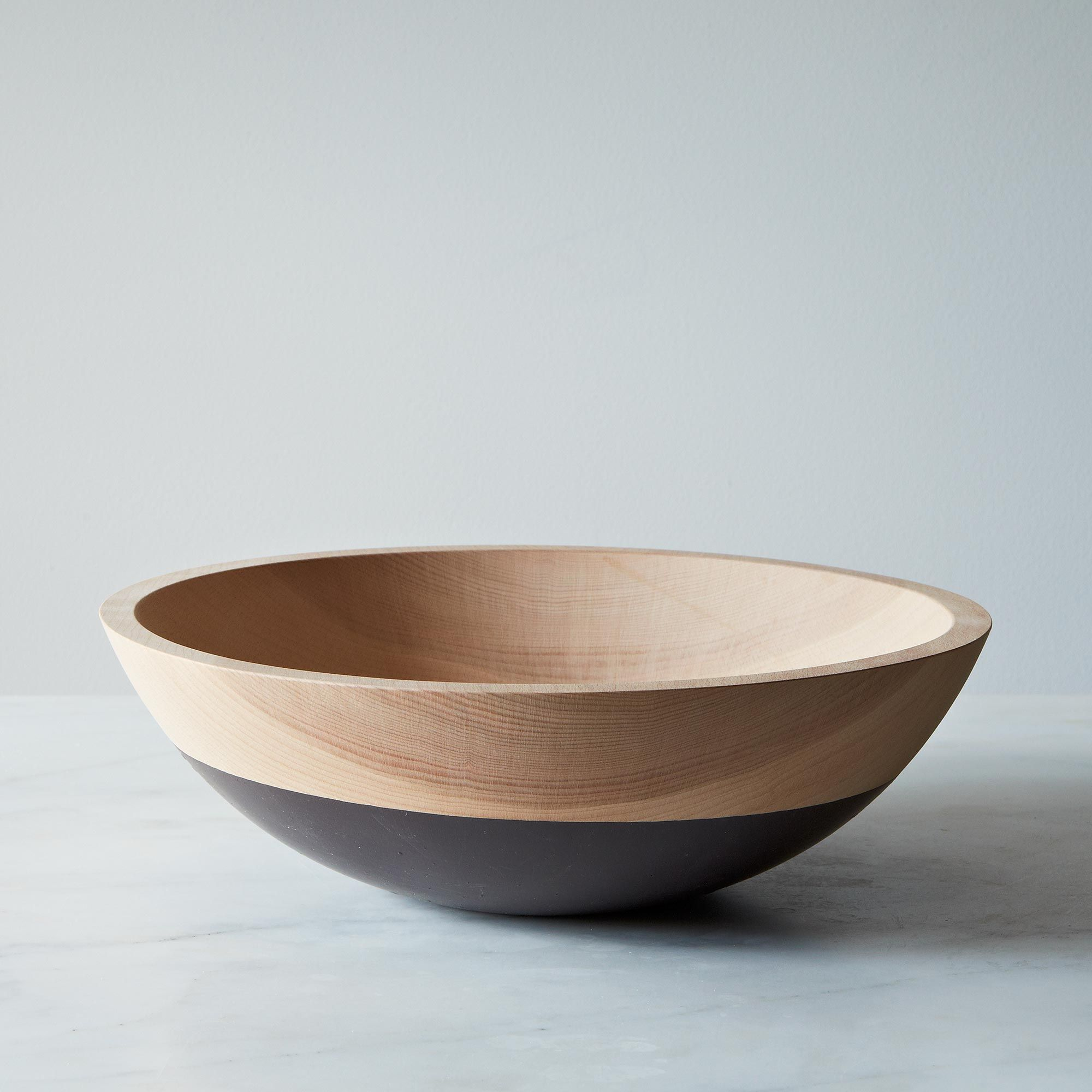 3aad117a a0f5 11e5 a190 0ef7535729df  2013 0723 wind and willow exclusive food52 hand dipped beech wood bowl 12in 013 1