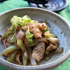 Squid and Celery Stir Fry