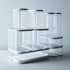 Modula Stackable Storage Containers (Sets of 2)