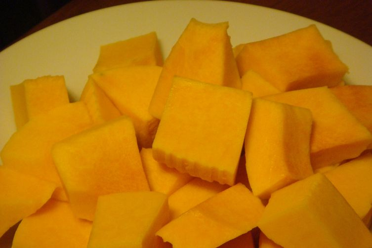 Butternut Squash with Nigella Seeds