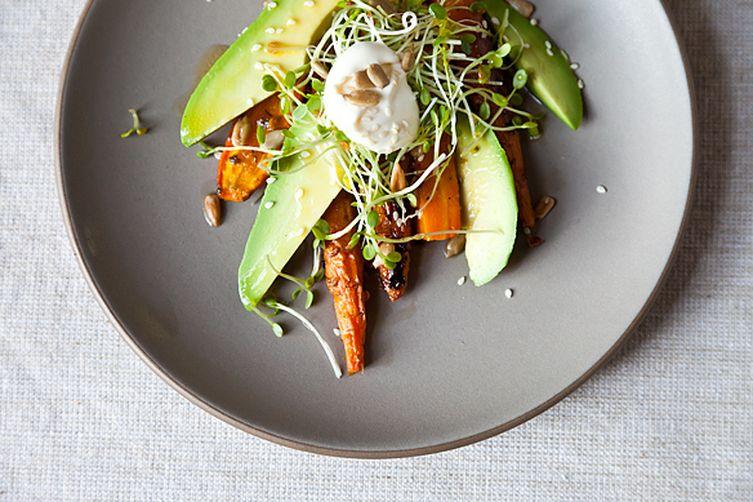 Carrot Avocado Salad