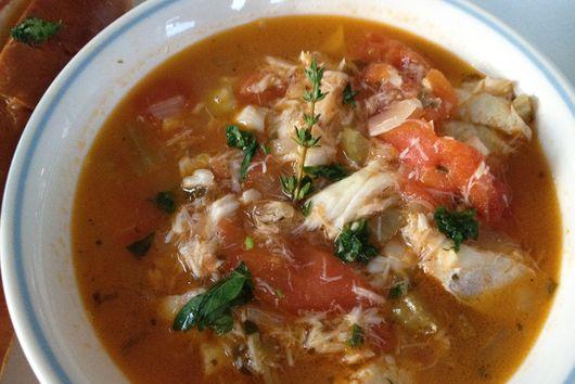 Hearty Sicilian Fish Stew