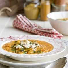 Red Lentil Vadouvan Coconut Soup