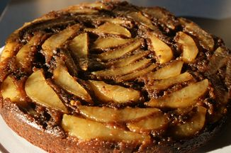 Chocolate Pear Upsidedown Cake Recipe On Food52