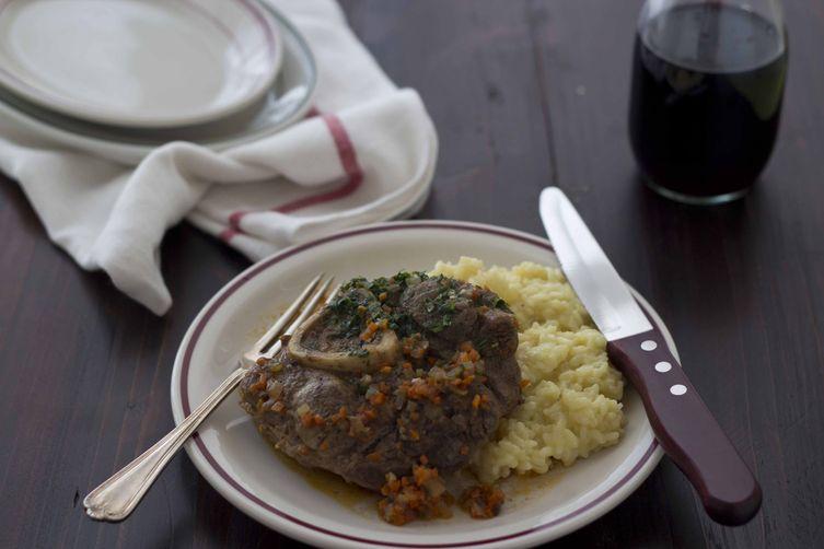 Veal shanks (Ossobuco alla milanese) - Lombardia, Secondo (main course)