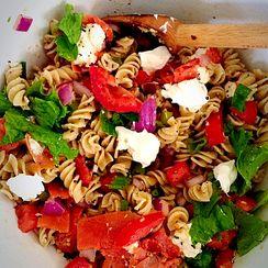 Everything Bagel Pasta Salad