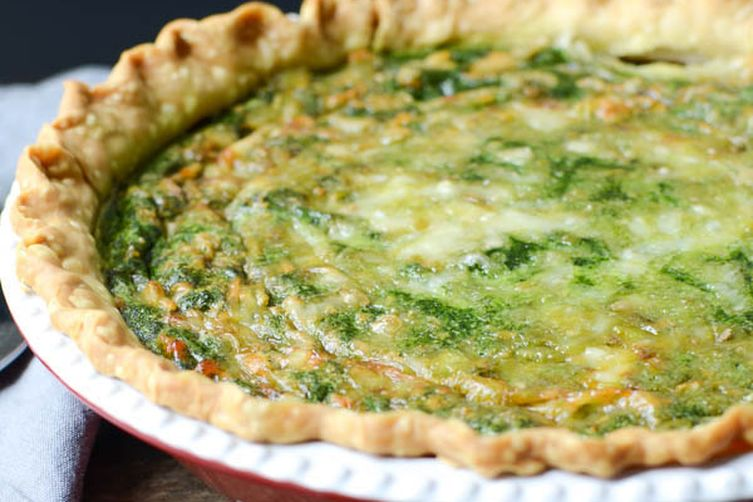 Homemade Spinach Gruyere Quiche Recipe on Food52