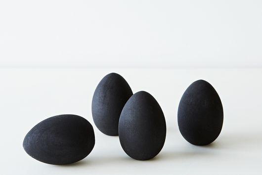 Chalkboard Egg Place Cards (Set of 4)