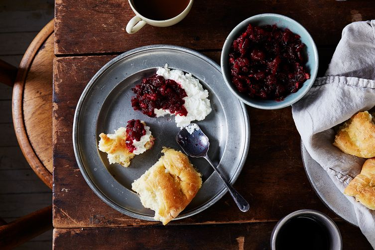 Pear Brandy Walnut Cranberry Sauce Recipe On Food52